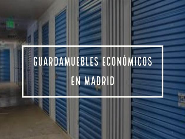 guardamuebles economicos en madrid
